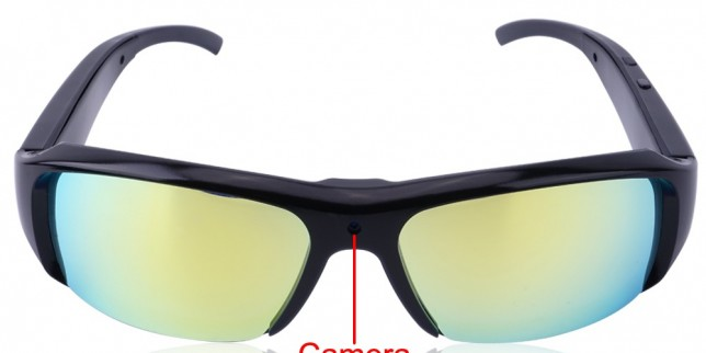 8GB 1080P Sunglasses Video Recorder