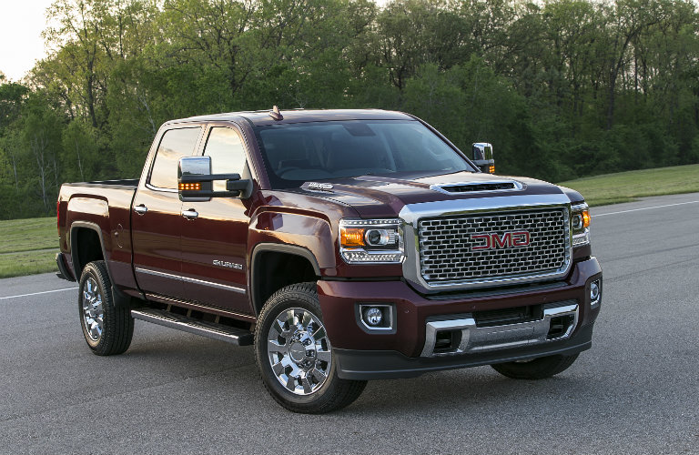 GMC Reveals New Front End Design For 2017 Sierra HD ...
