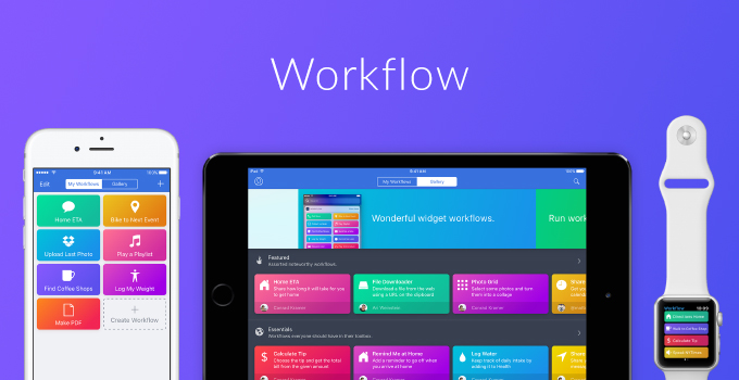 apple buy Workflow
