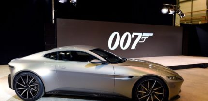 James Bond pay for his car