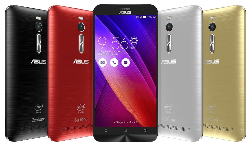 ASUS Unveils ZenFone 2 New Flagship Smartphone