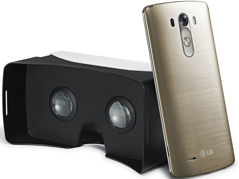 LG G3 And Google Cardboard