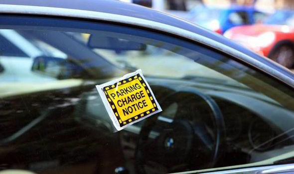 Fines in car parking