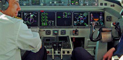 Swiss Saab 2000 Cockpit