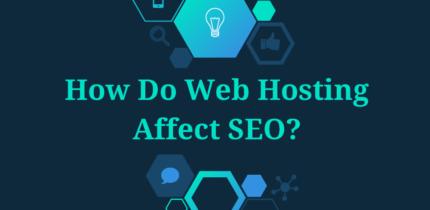 web hosting affect seo