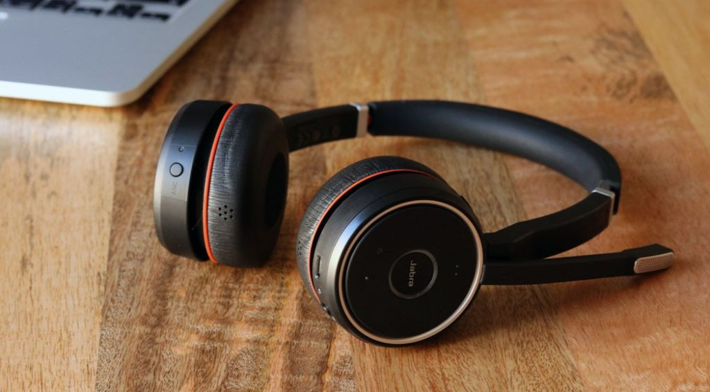Jabra Evolve 75 wireless headphones