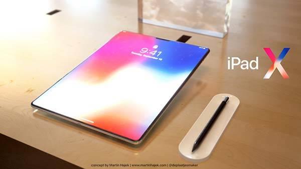 concept iPad X
