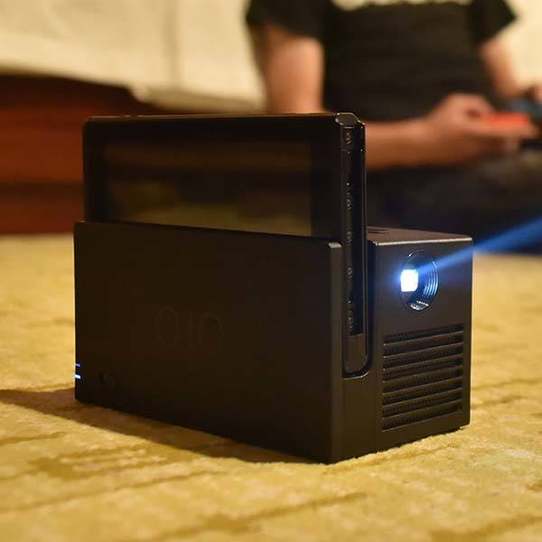 YesOJO Portable Nintendo Switch Projector