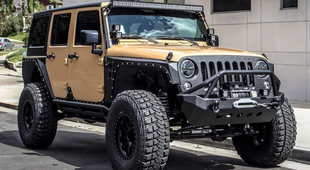 Jeep into the Perfect All Terrain Vehicle